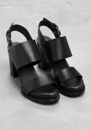 & Other Stories | Block Heel Sandals