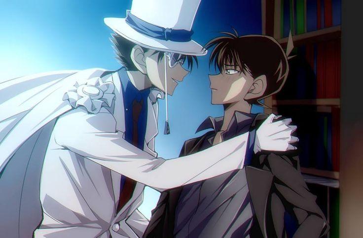 Kaito Kid and Shinichi!