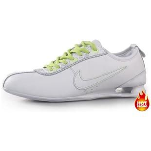 www.asneakers4u.com Womens Nike Shox R3 White Green Pattern
