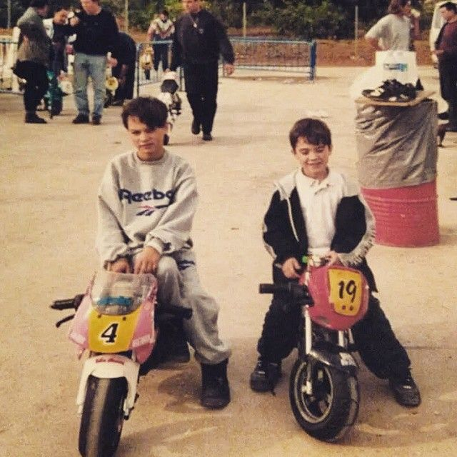 Dani Pedrosa with brother !