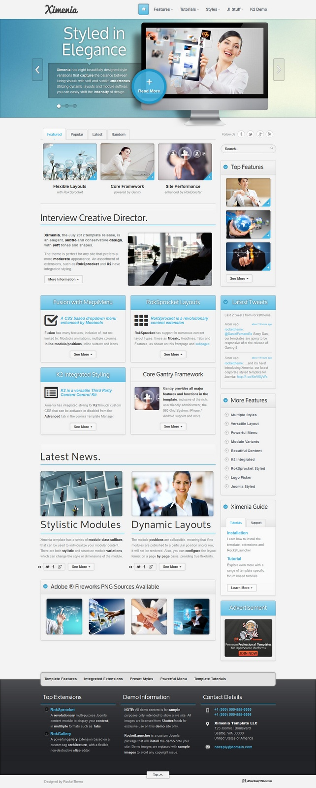 86 best Joomla Templates images on Pinterest | Joomla templates ...