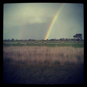 Rainbow i caught driving home one day :)