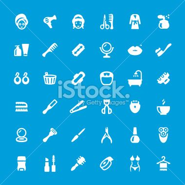 Makeup and Cosmetics iconset