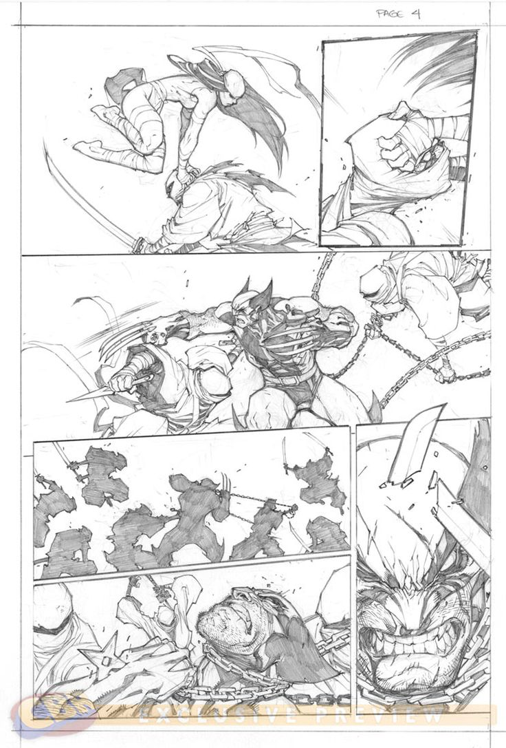 Savage Wolverine #6. Art by Joe Madureira.