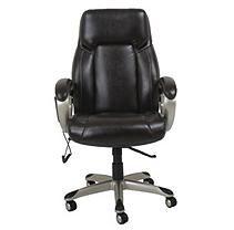 Barcalounger Shiatsu Massage Office Chair, Brown