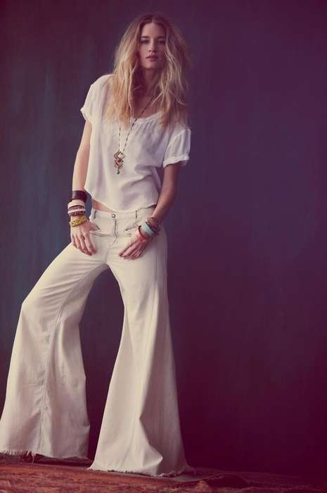 LOVE LOVE LOVE these pants!!  free people festival lookbook Photos 1 - Frugal Hippie Fashions pictures, photos, images