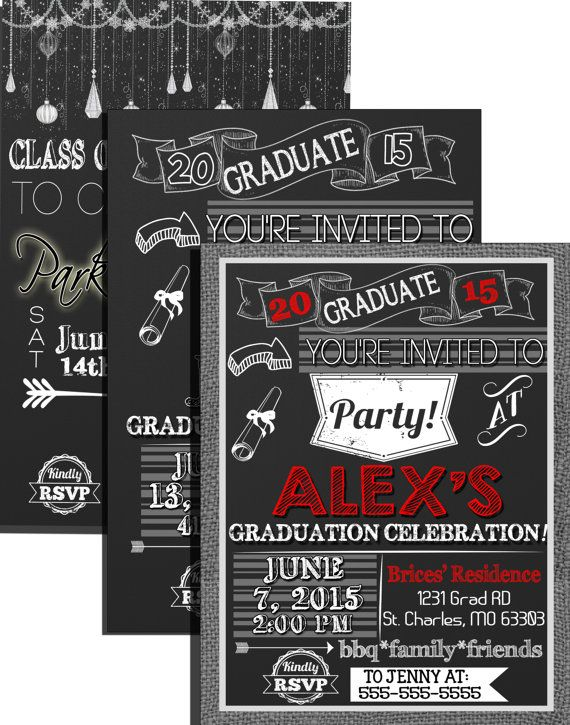 The 113 best modern graduation invites signs images on pinterest modern boys graduation party invites burlap by customprintablesny filmwisefo