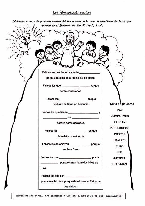 El Rincón de las Melli: JUEGO: Las Bienaventuranzas