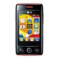 LG T300 Cookie Lite Sim Free Mobile Phone - Black