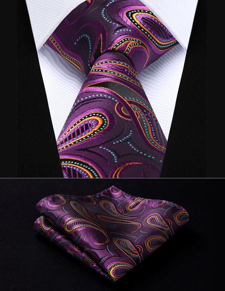 Mens Silk Pocket Square - Everyday Party (Silk) by VIDA VIDA xDirlk
