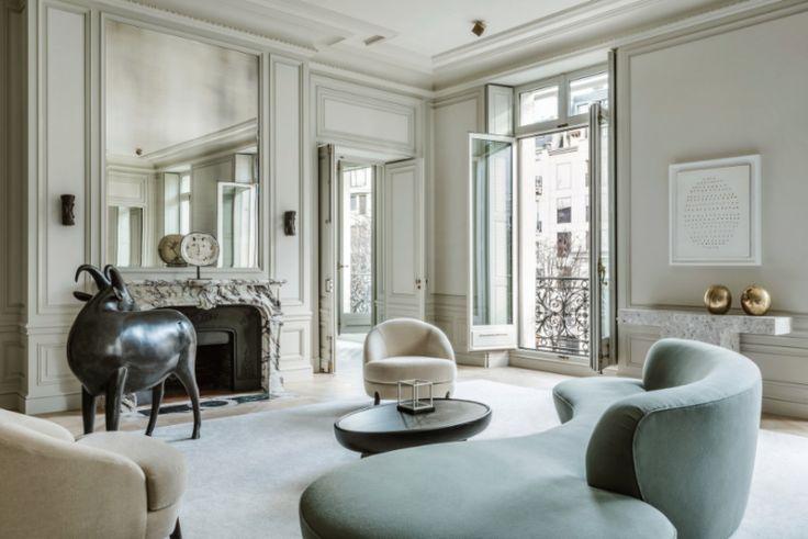 Stilbildande designern och arkitekten Joseph Dirands arbete har jag visat här många gånger tidigare, bland annat har han designat LouLoui Paris, och nyligen tipsade jag om hans aktuella bok...