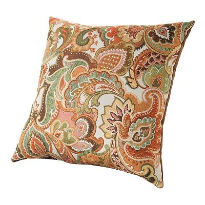 Josette paisley decorative pillow living room paisley pinterest Decorative pillows living room