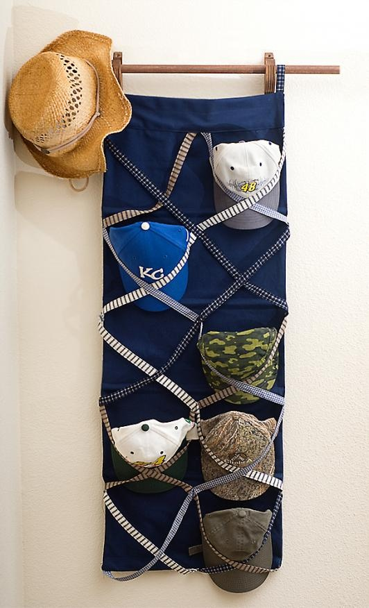 37 best images about baseball hat storage on pinterest for Best way to organize baseball hats