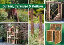 Naturzäune, Korbwaren und exklusive Holzprodukte von Weidenprofi