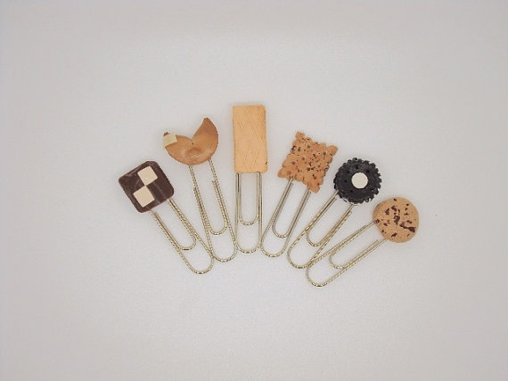 Office Supplies Paper Clips Miniature Cookies N by SmallIdea,