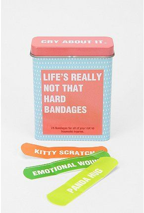 Awesome!: Bandaid, Urban Outfitters, Life, First Aid Kits, Funny, Band Aid, Pandas Hugs, Cry, Kid