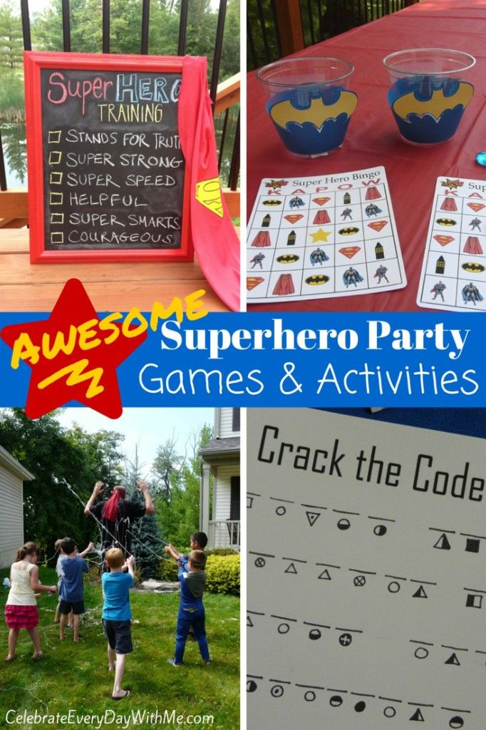 Last week, I shared the first part of my son's superhero birthday party . . . simple but super decor and food.  Today, we're talking superhero party games and activities {you'll soon see why the final game was my favorite thing about this particular party!}. This post contains affiliate links. I had three superhero party …