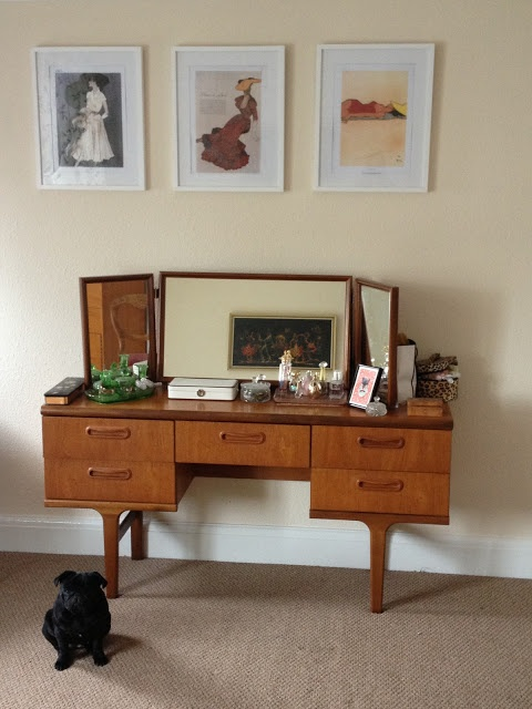 Via Oo Kitty Couture My Mid Century Bedroom Vintage Vanities In 2018 Pinterest And