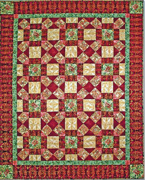 La Scala Quilt Free Pattern: Robert Kaufman Fabric Company