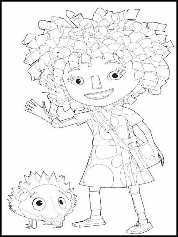 Kleurplaten Zack En Quack.Disegni Da Colorare Per Bambini Da Stampare Zack E Quack 1 Crea