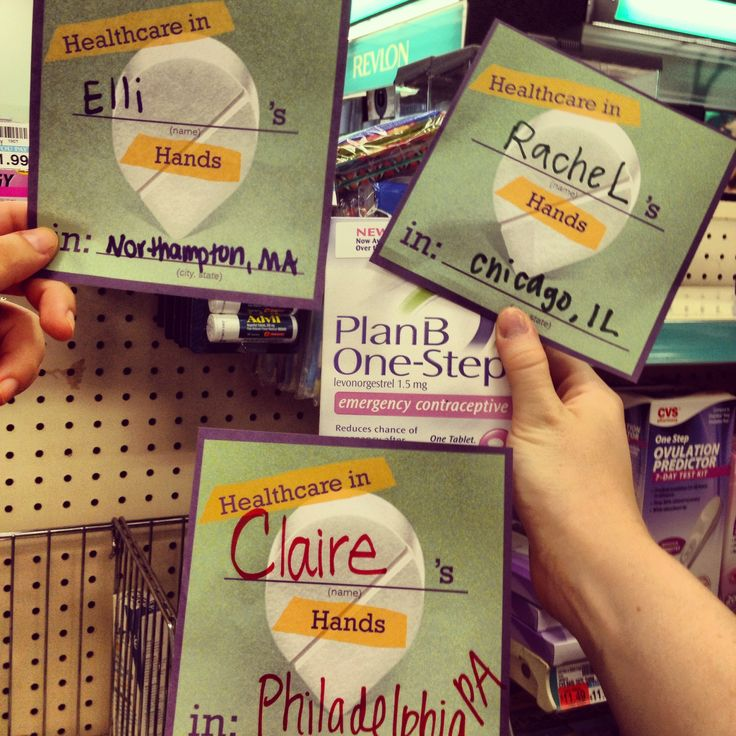 Now you can find Plan-B on drugstore shelves everywhere
