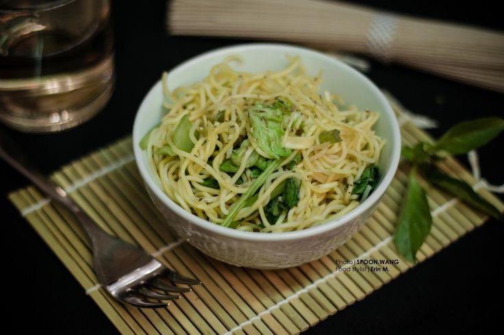 Vegetarian Rice Vermicelli // my food styling work