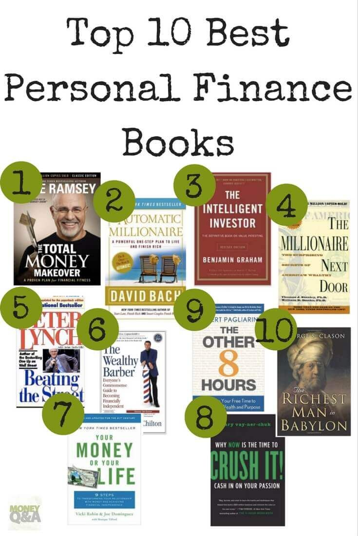 Whether you are looking for a great present or just want to learn more about taking control of your finances, these are the top ten personal finance books that should be on everyone's bookshelf. These are the best personal finance books out there! See the