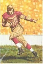 PADDY DRISCOLL CHICAGO BEARS LIMITED EDITION HALL OF FAME NFL GOAL LINE ART CARD