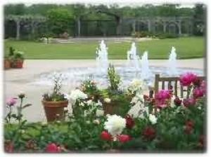 Fountain Garden At Klehm