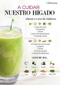 Hábitos Health Coaching | JUGO DE VERDURAS PARA CUIDAR NUESTRO HÍGADO (safe weight loss pills)