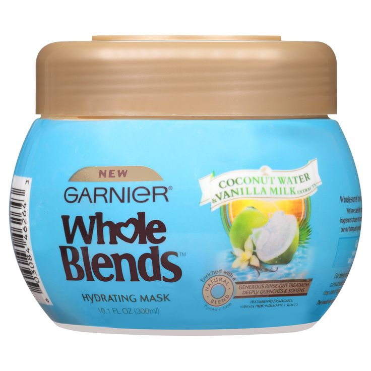 Garnier Whole Blends Coconut Water & Vanilla Milk Extracts Hydrating Mask - 10.1oz