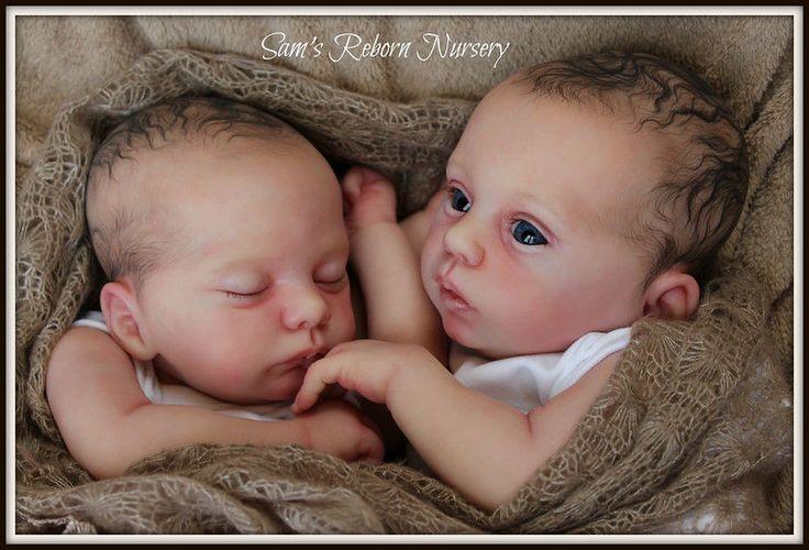 Beautiful Reborn Baby Twin Dolls ~ Myloh and Luca ~ Sam's Reborn Nursery ~ #Reborn
