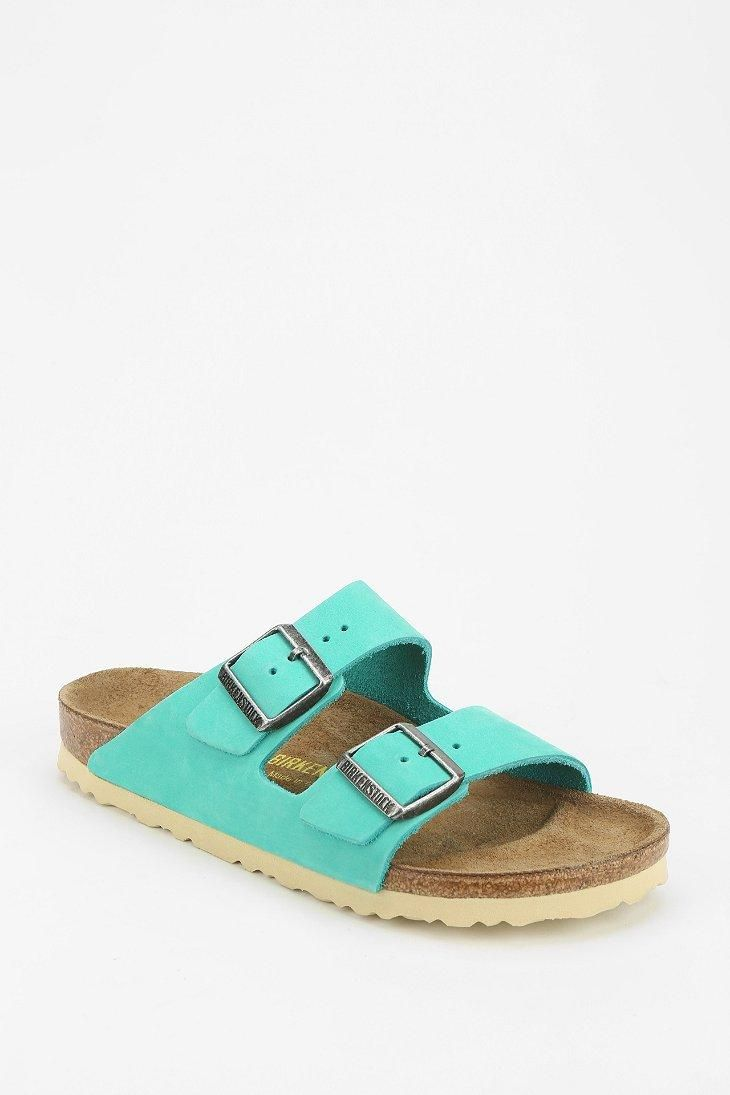 Birkenstock Arizona Contrast Sole Leather Sandal #urbanoutfitters