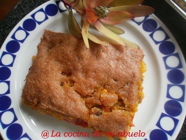 La cocina de mi abuelo: Empanada de millo y berberechos
