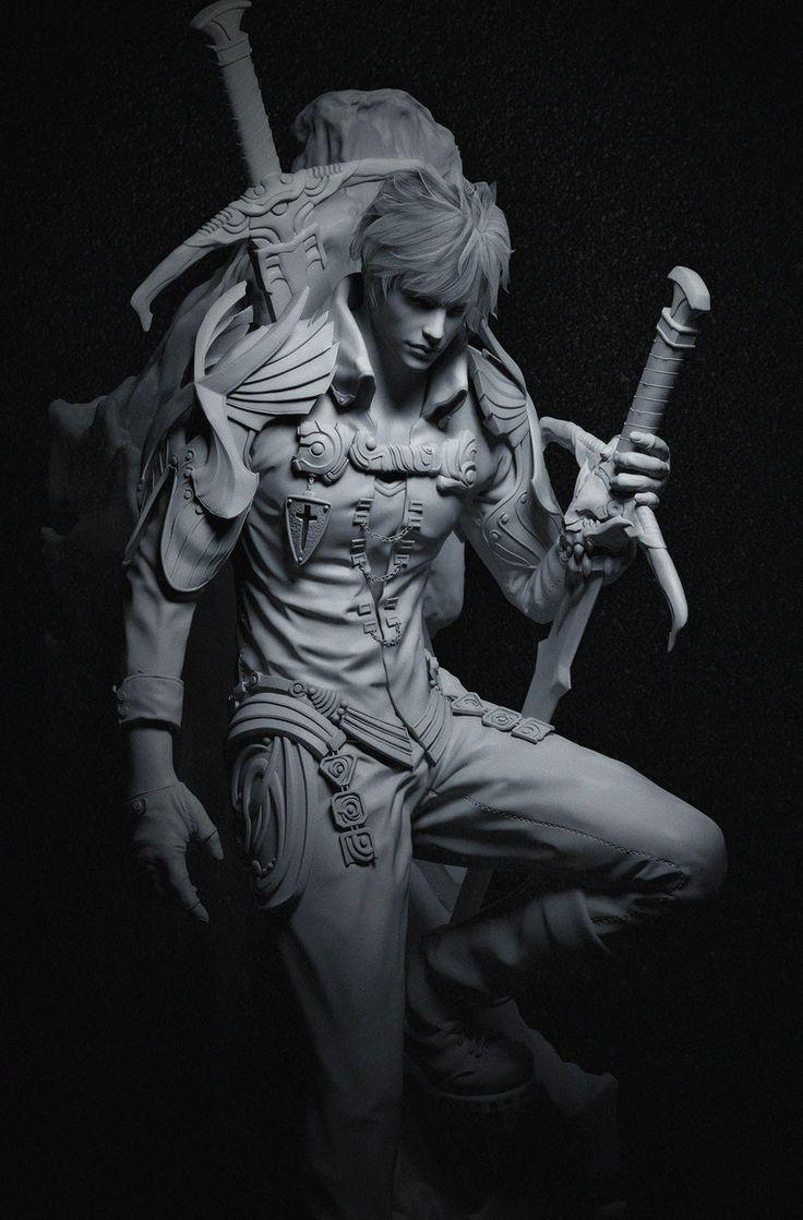 knight_03, Myunghyun Choi on ArtStation at https://www.artstation.com/artwork/knight03