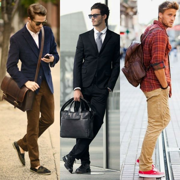 Com que bolsa você vai? Aprenda a distinguir os diferentes modelos de bolsas masculinas — carteiro, tote, satchel, envelope e outras. E saiba o que um homem deve levar em conta na hora de escolher essa parceira e o tipo mais indicado para cada profissão. Está tudo na nova matéria do site:
