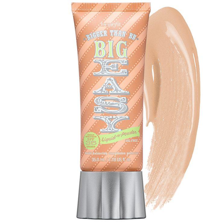New at #Sephora: Benefit Cosmetics The Big Easy Liquid To Powder SPF 35 Foundation #makeup #foundation