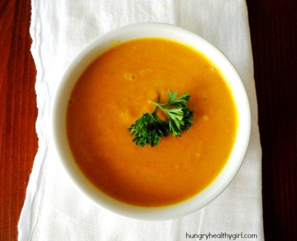Curried Carrot Soup (a Conscious Cleanse recipe)