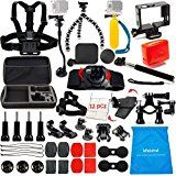 Christmas deals week  LifeLimit Accessories Kit for Hero 5 / Session / Gopro 4 / Gopro 3 / Gopro 2 / Gopro HD Cameras (45 Items) sale