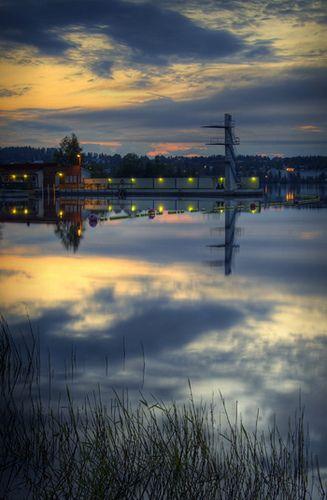 Swimming Tower - Kuopio, Finland