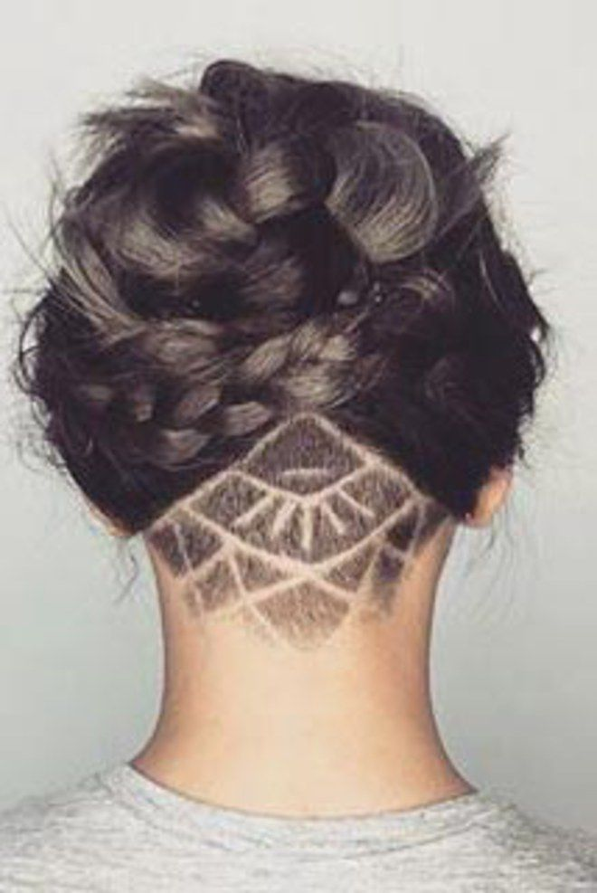 The Undercut. For more ideas, click the picture or visit www.sofeminine.co.uk