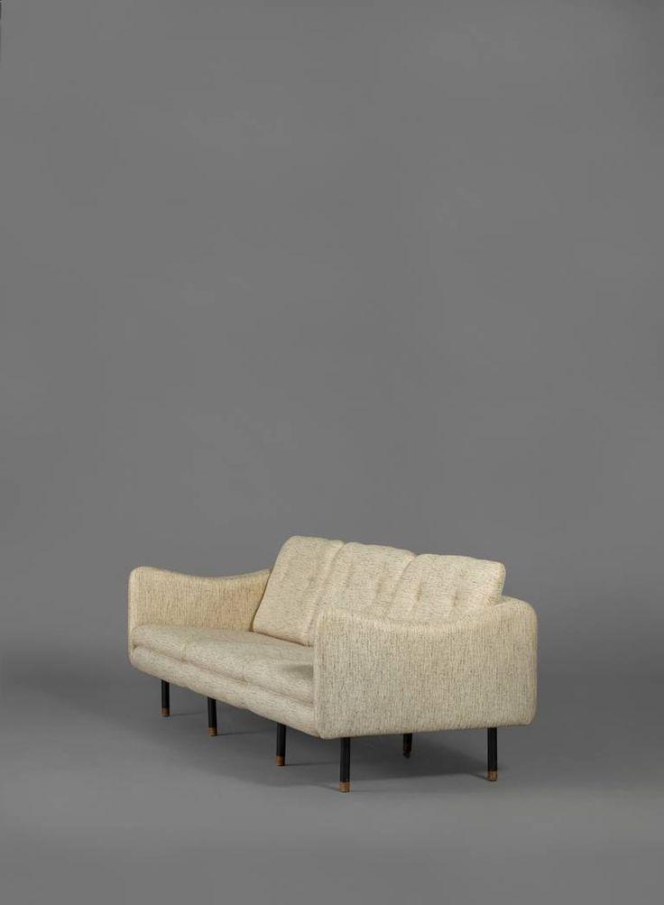 Michel Mortier; 'Teckel' Sofa for Steiner, 1963.