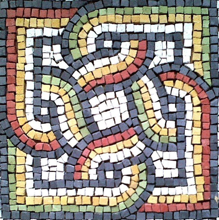 15 Best Images About Roman Geometric Mosaics Motifs On