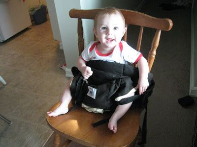 A Moving Tale: How to Hack your Ergo Carrier into an Impromptu High Chair