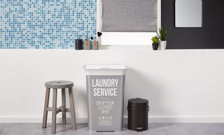 Houd je badkamer georganiseerd met deze handige opbergers! #opruimen #opberger #badkamer #wasmand #kwantum