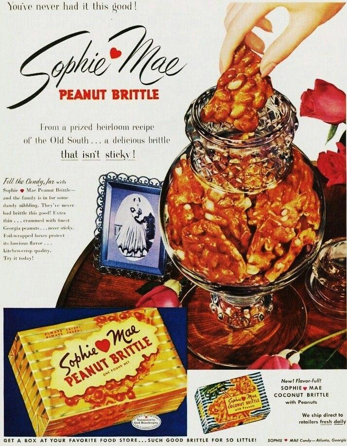 Sophie Mae 1953 | Vintage Food Ads S-Z | Food, Ethnic
