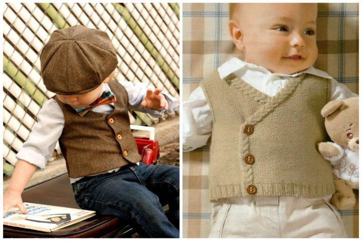 En Güzel Erkek Bebek Yelek Modelleri