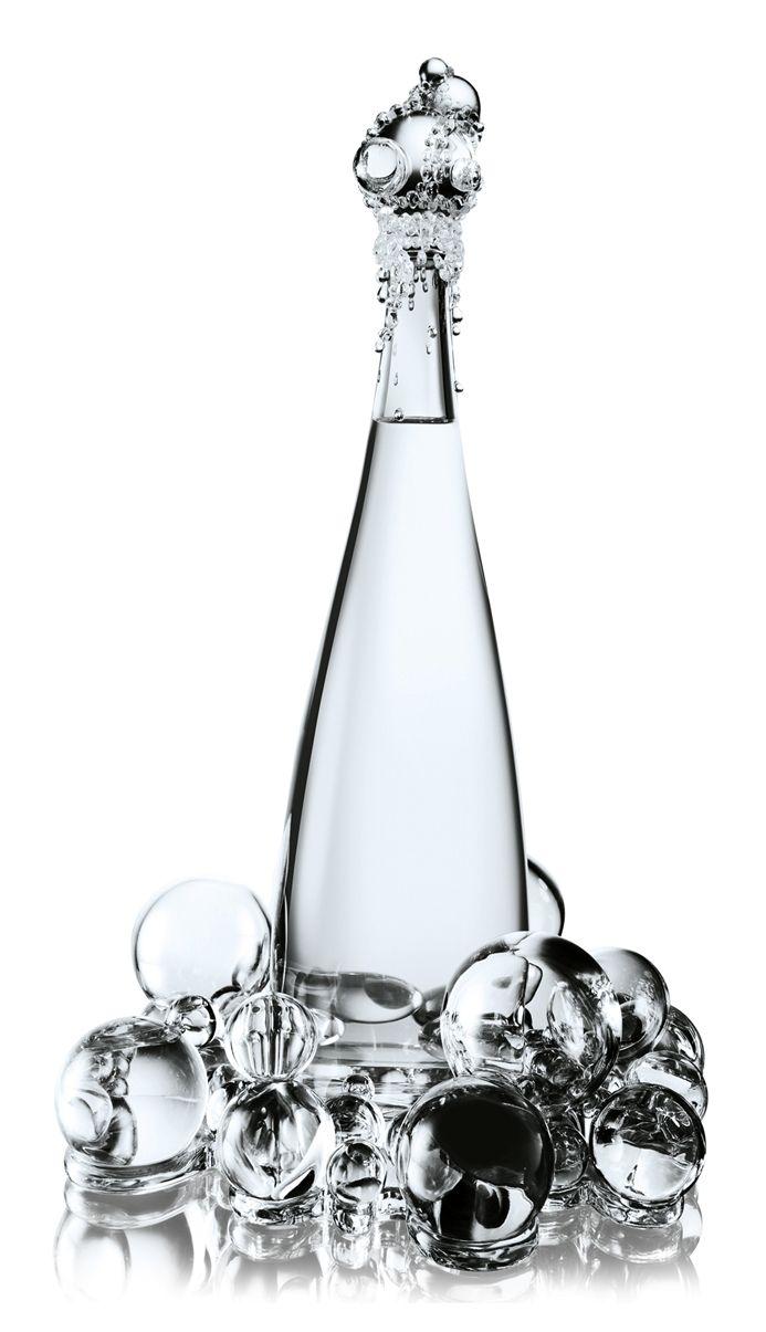 Jean-Paul Gaultier and Baccarat – Haute Couture Evian Collection, Bubbles Bottle
