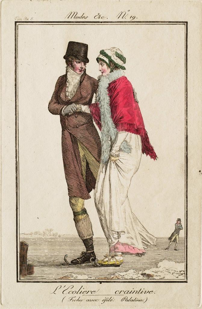 Philibert-Louis Debucourt, L'Ecoliere craintive, 1800.