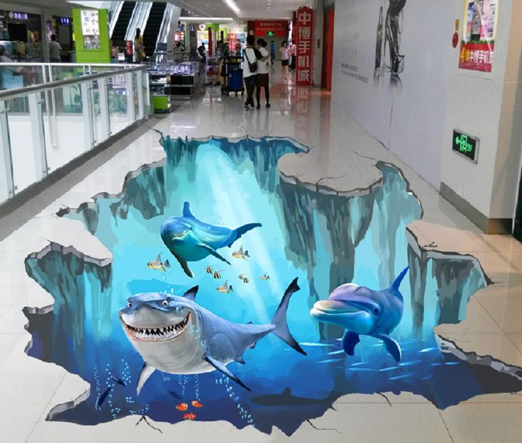 epoxy 3D flooring for public areas  Sign Central in 2019